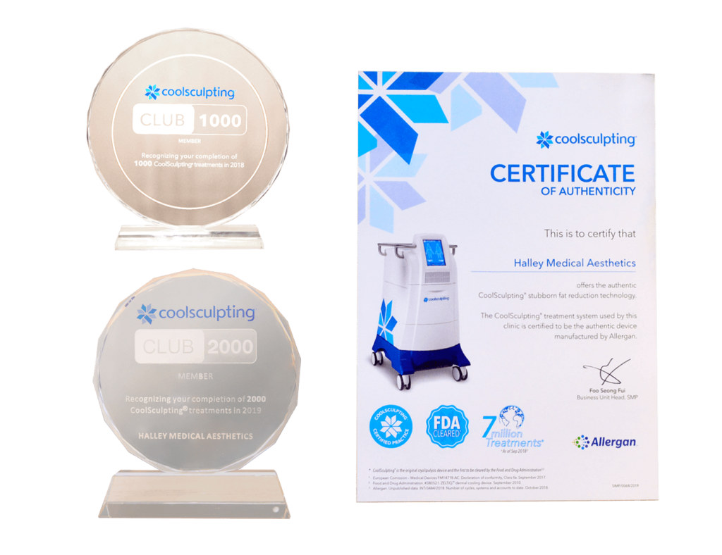 certified coolsculpting clinic singapore